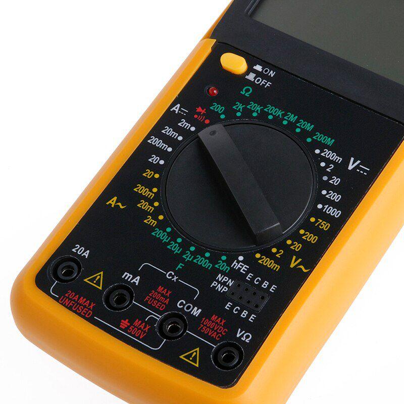 Multimetro Digital Dt-9205a C/ Capacimetro Beep Profissional