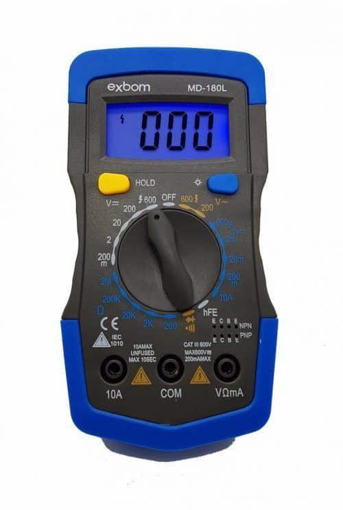 Multimetro Digital Profissional Lelong LE-982