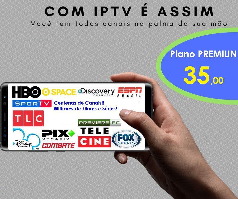 Pacote Premium IPTV Brasil