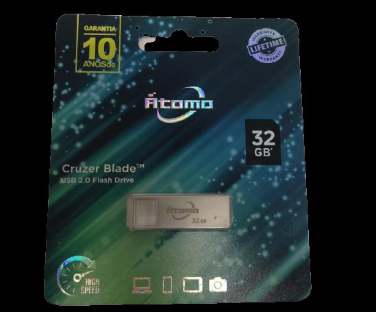 Pendrive Cruzer Blade 32GB 2.0 Átomo