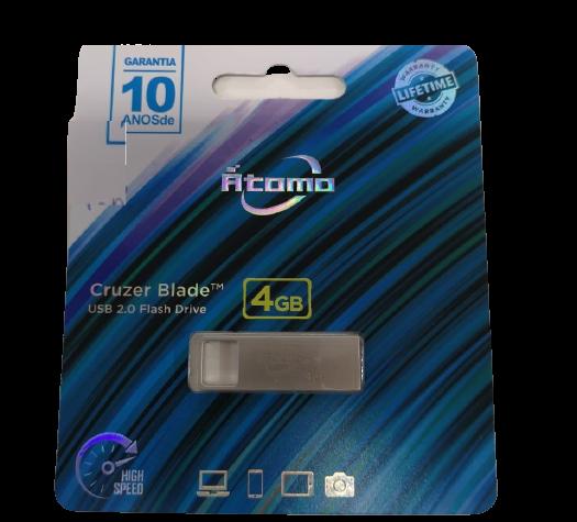 Pendrive Cruzer Blade 4GB 2.0 Átomo