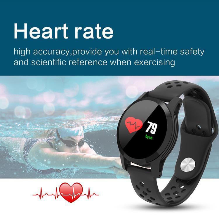 Pulseira Fitness Pressão Artérial Batimentos cardíacos iOS android
