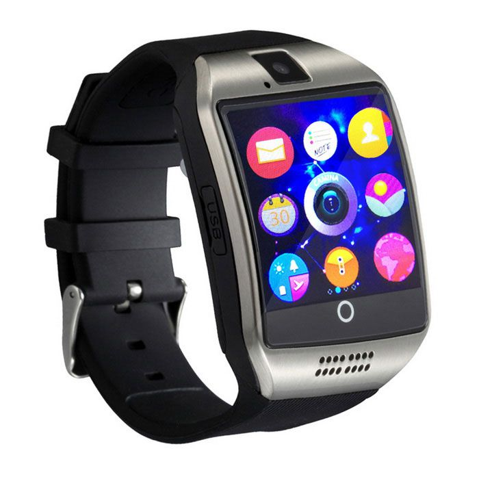 Relógio Inteligente com Câmera Design Moderno Q18