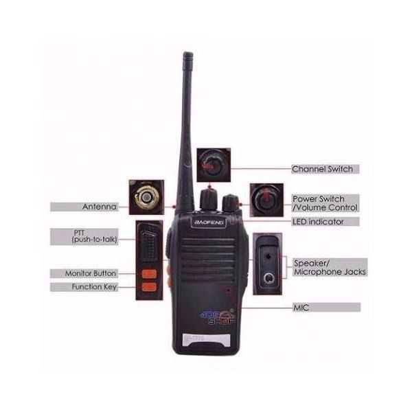 Radio Comunicador Walk Talk Baofeng Bf 777s
