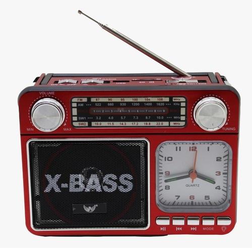 Rádio FM/AM/SW1-2/USB/SD/TF/AUX/Receiver 4 Bandas YS-135BT