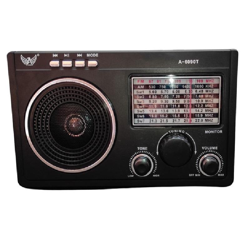 Rádio fm/am/sw1-7/usb/tf/aux/receptor de 9 faixas  MO-808T