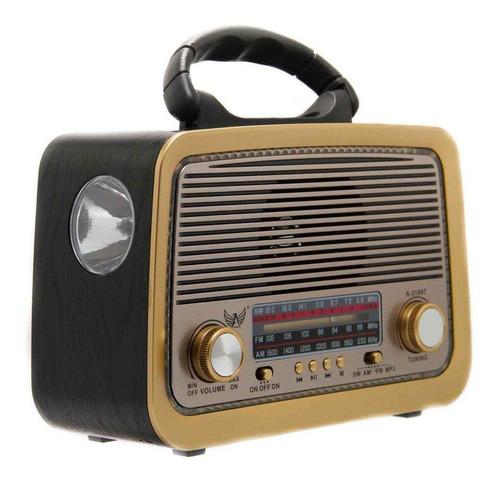 RÁDIO FM/AM/SW/USB/TF/AUX/RECEPTOR DE 3 FAIXAS  MO-3199T