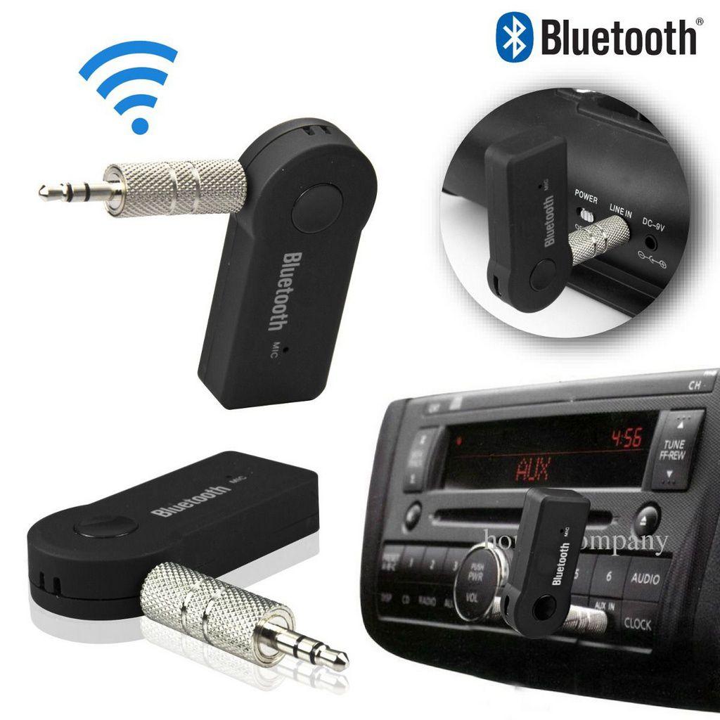 Receptor Bluetooth Car. com microfone Áudio Stereo  P2 Músicas