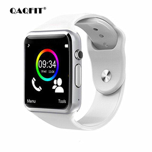 Relógio Inteligente  Smartwatch A1 Branco Notifica as Redes Sociais