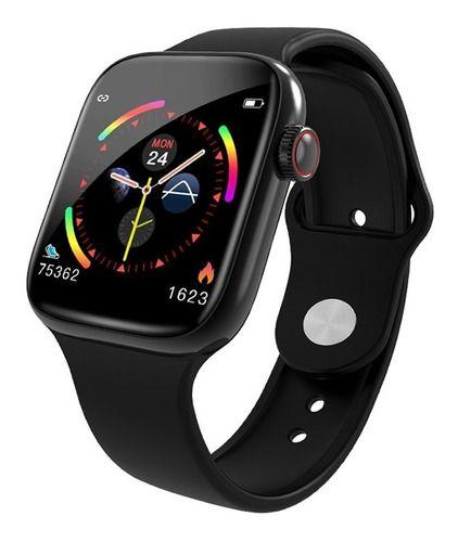 Relógio Inteligente W4 Toque Esportes Fitness Preto