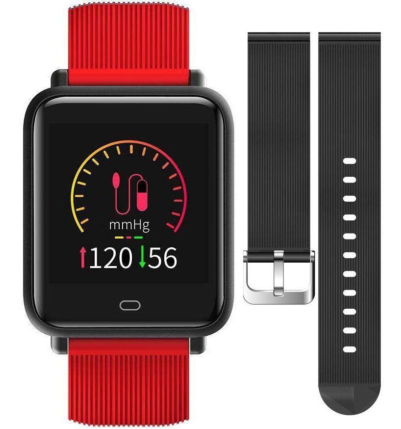 Relógio Smartwatch Q9 Cardíaco Pressão Ip67 Saúde + Pulseira extra