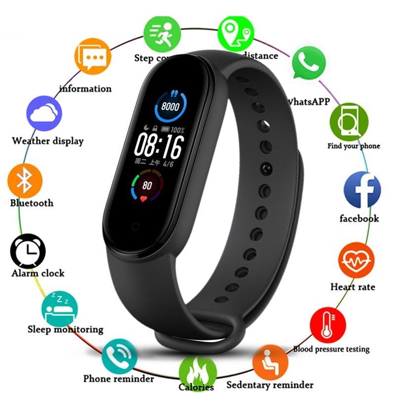 Smartband M5 Smartwatch frequencia cardíaca
