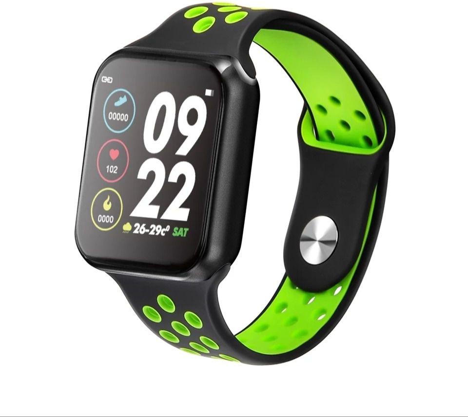 Smartwatch F8 academia caminhada fitness saúde