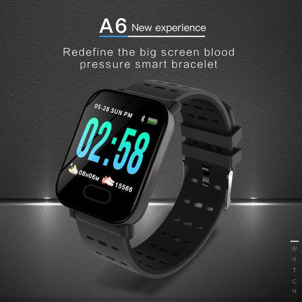 Smartwatch Relogio Inteligente A6 Batimentos e Pressão