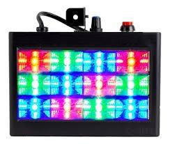 Strobo RGB 12 Leds Colorido VSK-S34