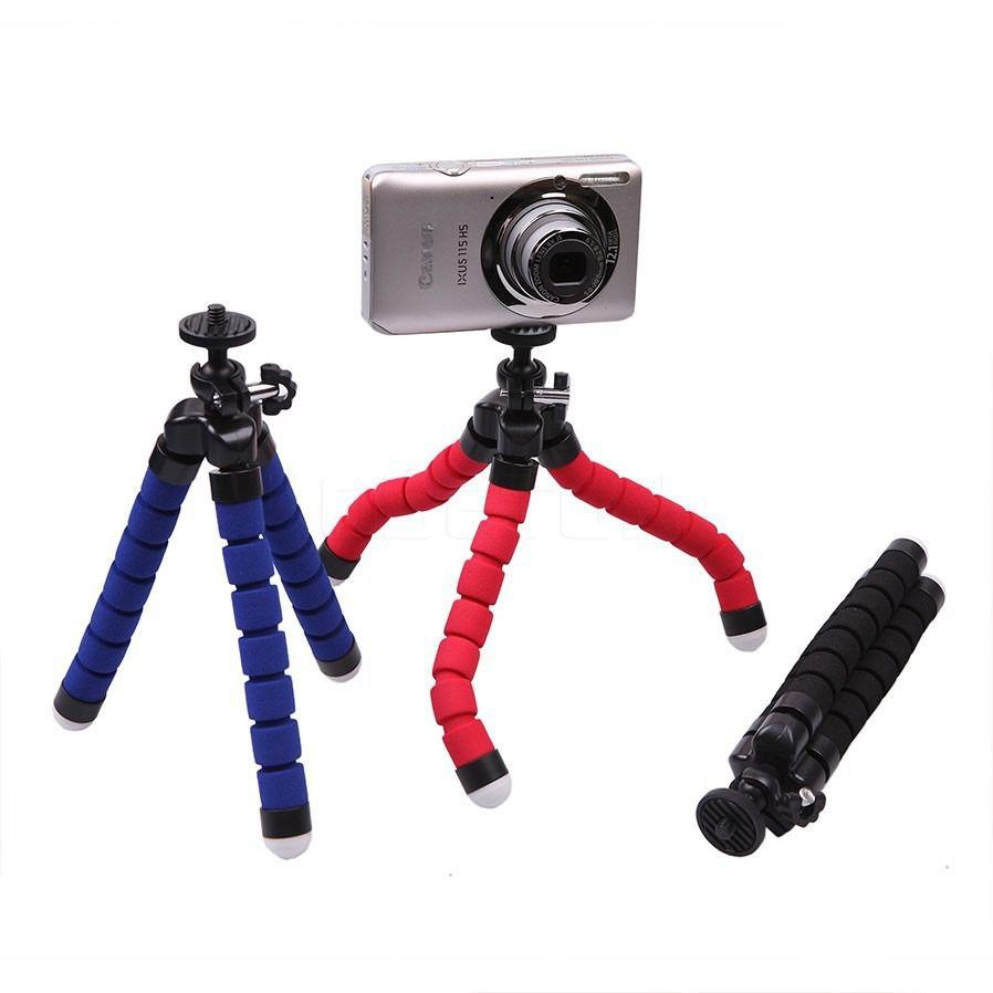 Suporte Celular Flexível Tripé Gravar Vídeo Foto 33cm