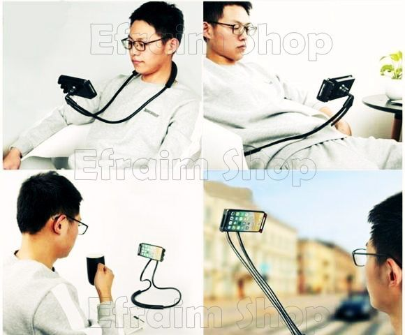 Suporte Flexível de Pescoço para Celular