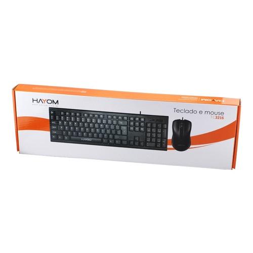 Teclado Com Mouse USB PC e Notebook - TC3216