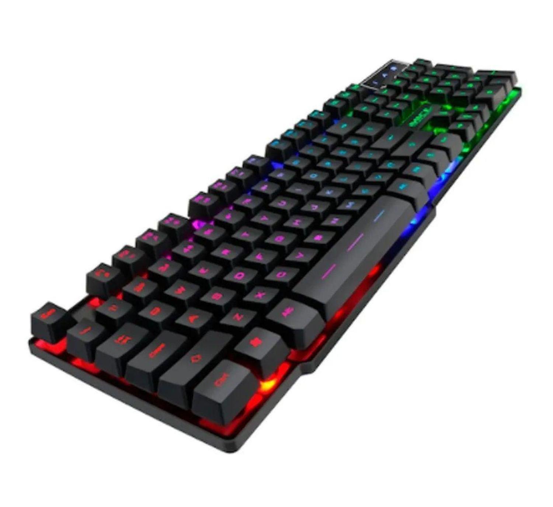Teclado Retroiluminado Gaming Keyboard H'Maston - AK 600