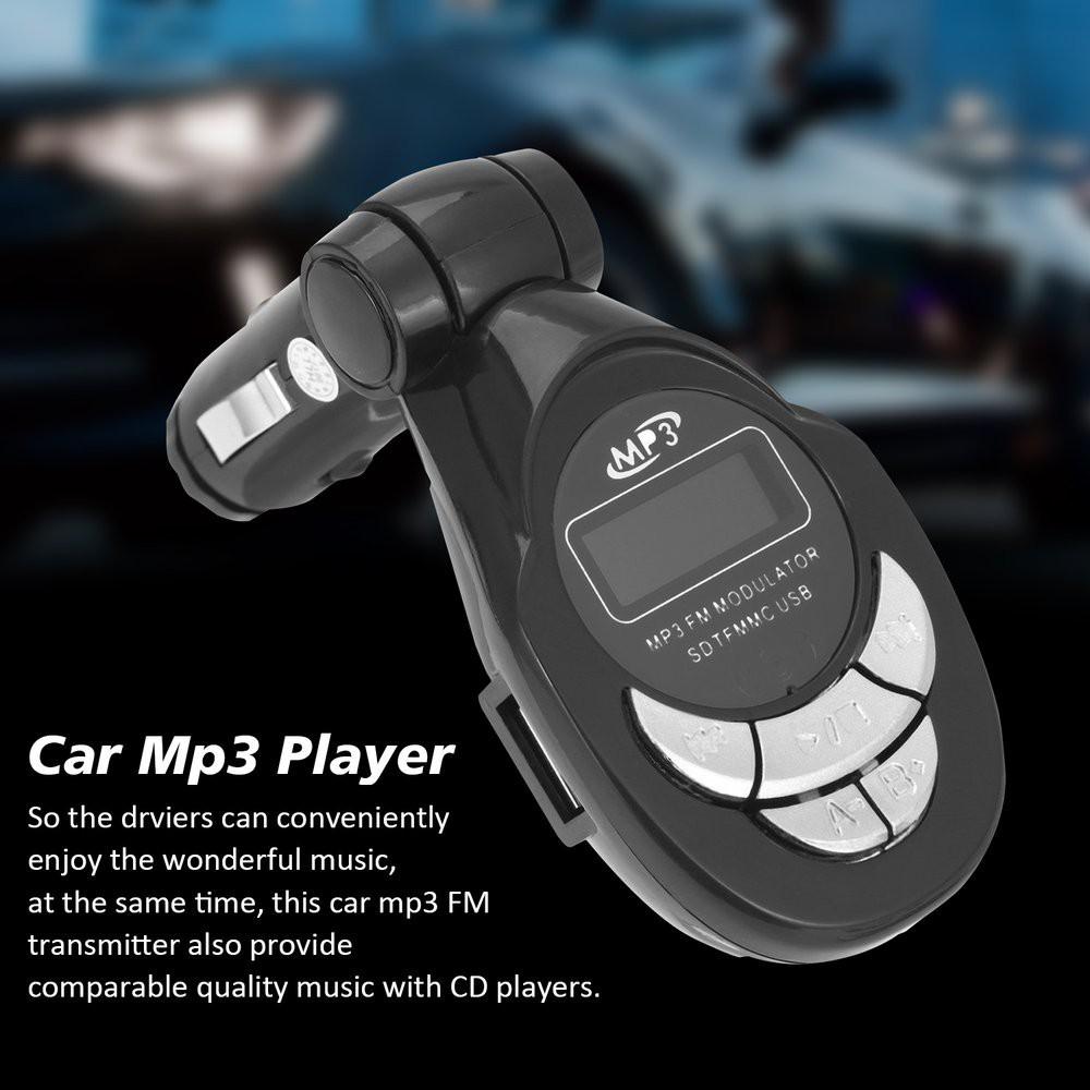 Transmissor FM Sem Fio Modulador USB 4em1 Carro MP3 Player Controle Remoto