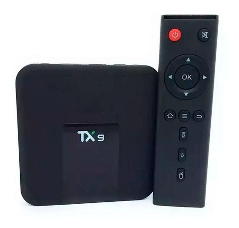 TX9 32gb 3 Ram + Teclado Touch Transforma Tv Em Smart Tv