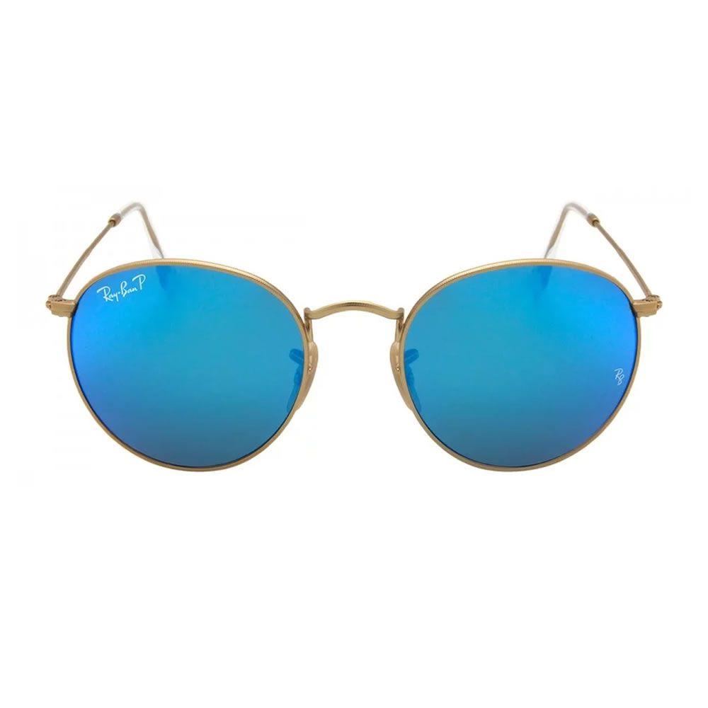 e759536af Óculos de Sol Ray Ban Round RB3447 112 4L Polarizado