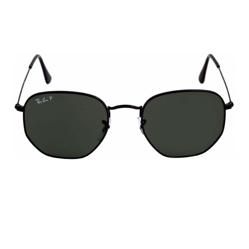 7208c87b9 Óculos de Sol Ray Ban Hexagonal RB 3548N 002 58