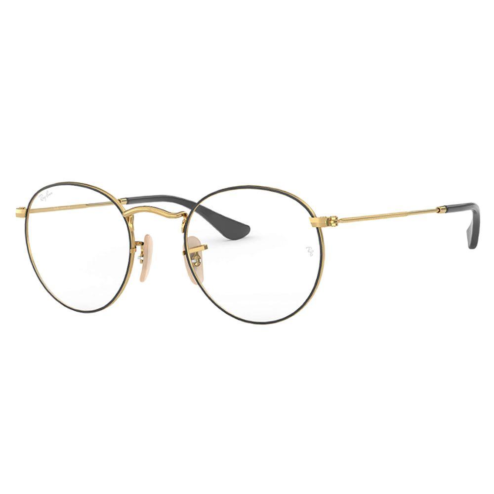 7b12a2a85 Óculos de Grau Ray Ban Round RB 3447 V