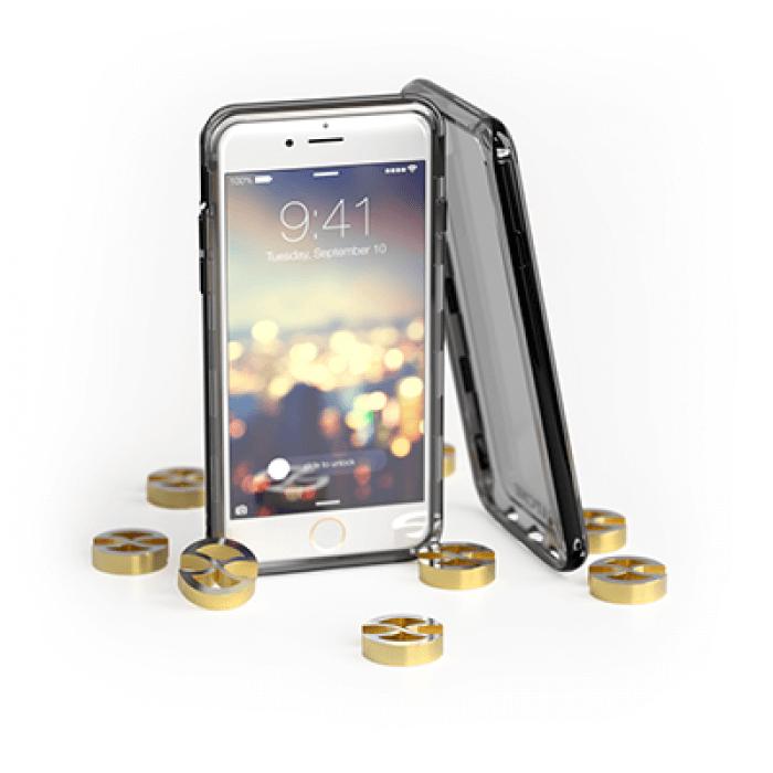 Capa iPhone 6 Gatche Jet Black