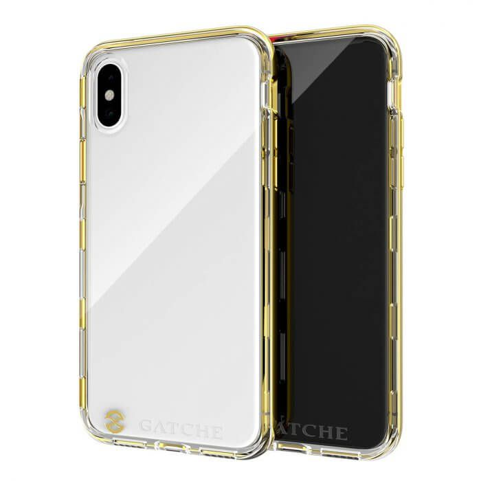 Capa iPhone XS MAX Gatche Gold