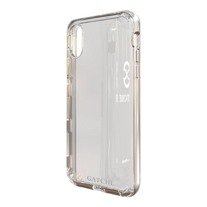 Capa iPhone XR Gatche Silver