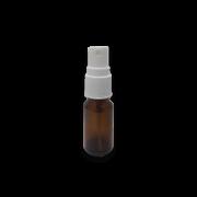 Frasco Spray 10ml - Vidro Âmbar com Válvula Branca