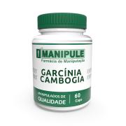 Garcínia Cambogia 500mg - 60 cápsulas