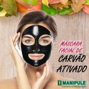 Máscara Facial De Carvão - 5G