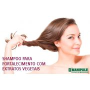 Shampoo Para Fortalecimento Com Extratos Vegetais 100ml