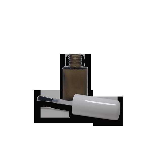 5 Frascos Esmalte Fumê 10ml com Tampa Branca  - Loja Online | Manipule - Farmácia de Manipulação
