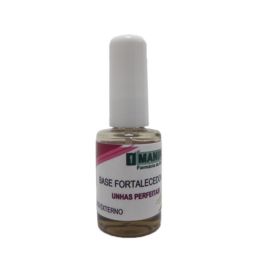 Base Fortalecedora para Unhas - 10ml  - Loja Online   Manipule - Farmácia de Manipulação
