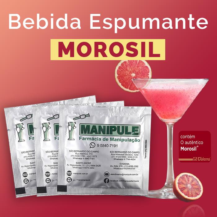 Bebida Espumante com  Morosil 500mg  - Loja Online   Manipule - Farmácia de Manipulação