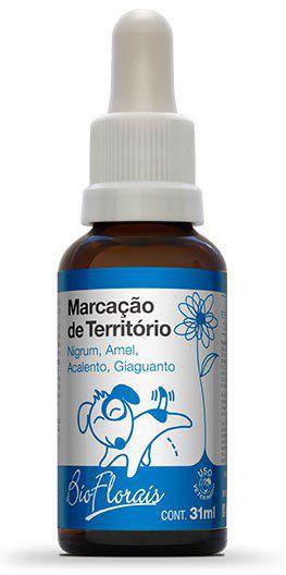 Bio Florais Vet. Marcação de Território - 31 ml  - Manipule - Farmácia de Manipulação