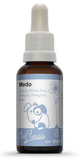 Bio Florais Vet. Medo - 31ml  - Manipule - Farmácia de Manipulação