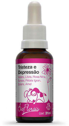 Bio Florais Vet. Tristeza e Depressão - 31 ml  - Manipule - Farmácia de Manipulação