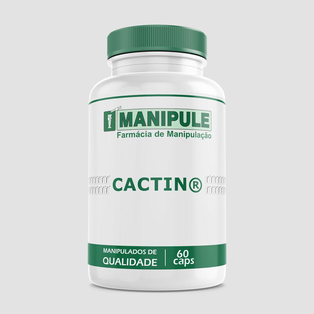 Cactin®  500mg - 60 cápsulas - ganhe 1 Gel Crioterápico 30g  - Manipule - Farmácia de Manipulação