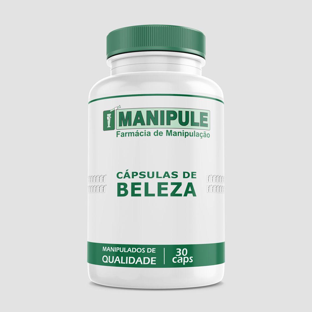 Cápsulas da Beleza - 30 cápsulas  - Manipule - Farmácia de Manipulação