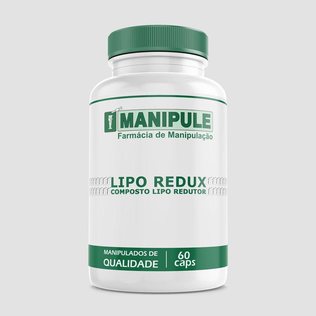 COMPOSTO  LIPO-REDUTOR - 60 doses - ganhe 1 Gel Crioterápico 30g  - Manipule - Farmácia de Manipulação