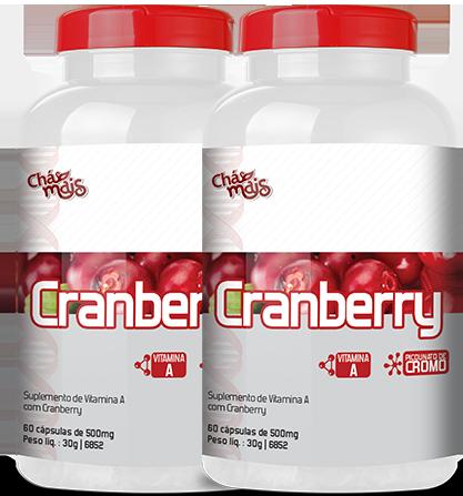 Cramberry 500mg - 60 Cápsulas  - Manipule - Farmácia de Manipulação