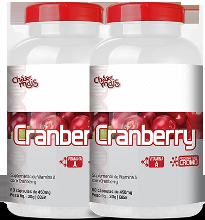 Cranberry 450mg - 60 Cápsulas  - Loja Online | Manipule - Farmácia de Manipulação