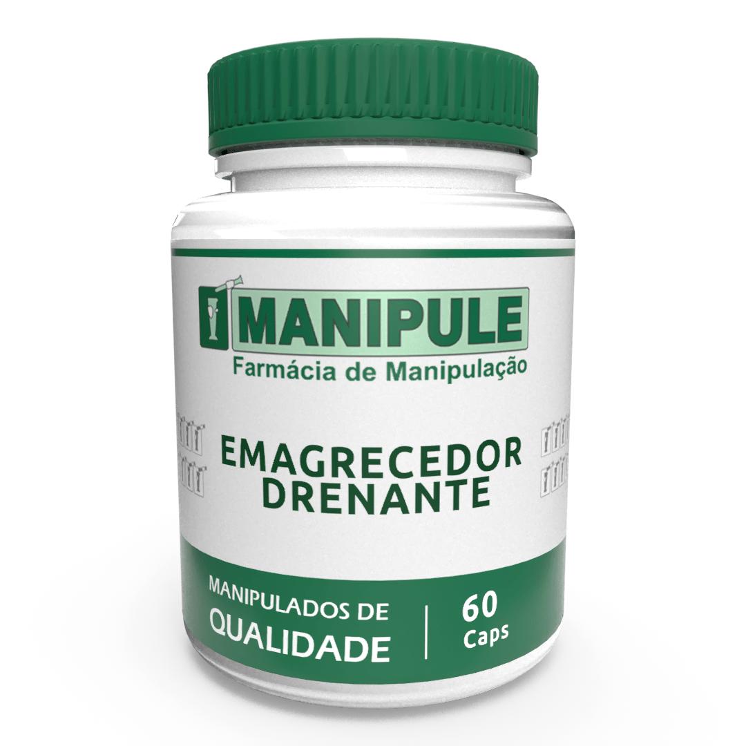 Emagrecedor Drenante MANIPULE - 60 cápsulas - ganhe 1 Gel Crioterápico 30g  - Loja Online | Manipule - Farmácia de Manipulação