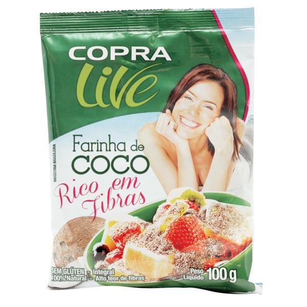 Farinha de Coco 100g  - Loja Online | Manipule - Farmácia de Manipulação