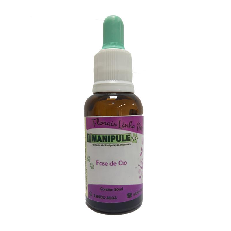 Fase de Cio 30ml - Florais Veterinários  - Loja Online   Manipule - Farmácia de Manipulação