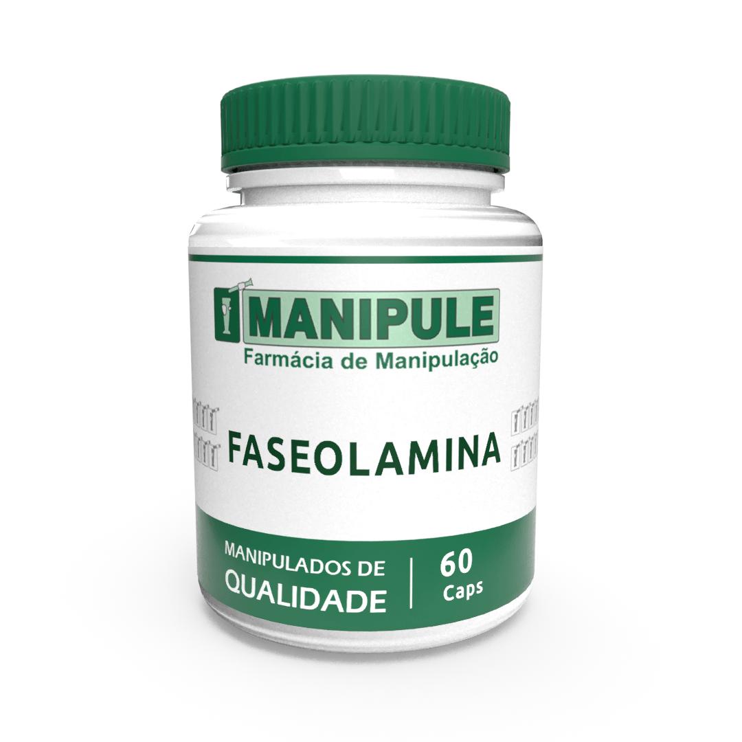 Faseolamina 500mg - 60 cápsulas  - Manipule - Farmácia de Manipulação